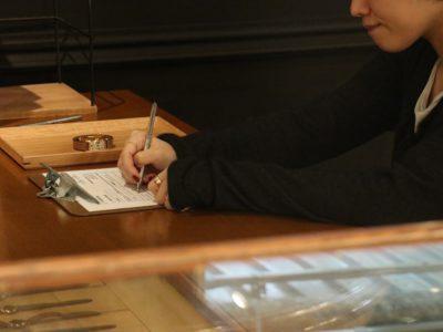 腕時計修理のヒヤリング