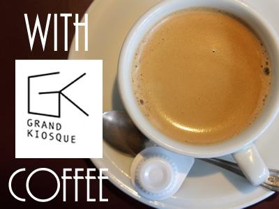 GRAND KIOSQUE Coffee ticket