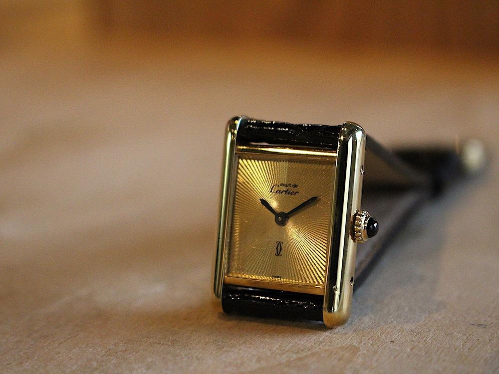buy online fb132 f9a4f マスト ドゥ カルティエ/マストタンクSM/ゴールドサンビーム ...